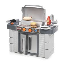 little tikes cook growa bbq grill kitchen set reviews wayfair cook growa bbq grill kitchen set