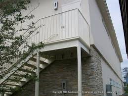 commercial aluminum stair system