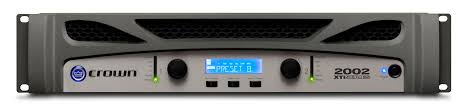xti 2002 crown audio professional power amplifiers