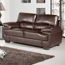 2 Seater Sofa Leather by Chelsea Dark Brown Leather Sofa Collection