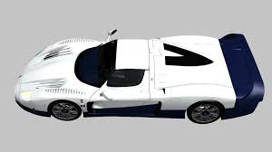 maserati mc12 race car 3d model maserati mc12 2004 cgtrader