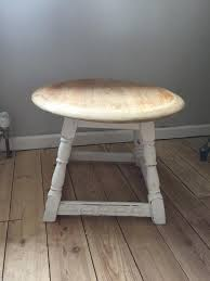 shabby chic side table solid oak small vintage shabby chic side table l table in