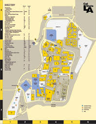 Michigan State Campus Map by 22 Simple Los Angeles State Map Afputra Com