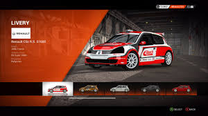 renault clio rally car image dirt 4 renault clio r s s1600 jpg colin mcrae rally and