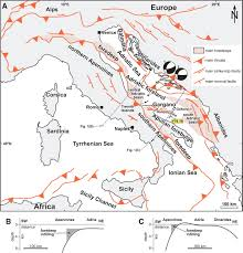 Map Of Central Italy by Neogene Quaternary Intraforeland Transpression Along A Mesozoic