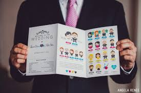 unique wedding programs get with the wedding program wedding programs programming