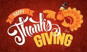 thanksgiving meals delivered journal