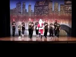 bcf technology christmas zumba dance routine 2010 sporter tv