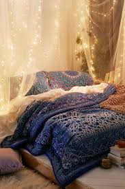 Christmas Lights Behind Sheer Curtain 10 Diy Canopy Beds Bedroom And Canopy Decorating Ideas