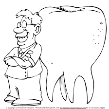 dentist coloring pages tooth brushing coloring pages dental