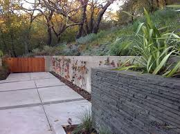 gravity stone retaining wall mapo house and cafeteria