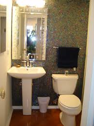 Great Powder Rooms Luxury Great Powder Room Design Ideas With Modern Mirror On The