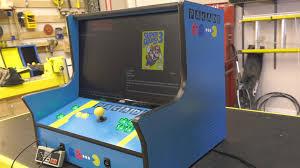 how to make an arcade cabinet bartop arcade two plan bundle the geek pub