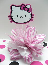 Centerpieces For Birthday by Hello Kitty Centerpieces For Birthday Hello Kitty Table