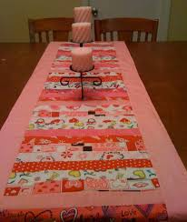 valentines day table runner 33 beautiful table runner patterns for valentines day
