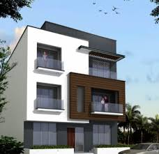 Residential Building Elevation by 2 Floor Front Elevation Also Elevations Of Residential Buildings
