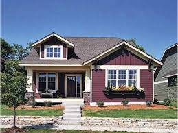 brown craftsman homes brick exterior charming doors colors white