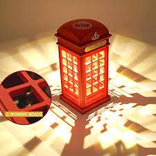 veilleuse pour chambre a coucher actopp vintage veilleuse led forme cabine téléphonique de londres