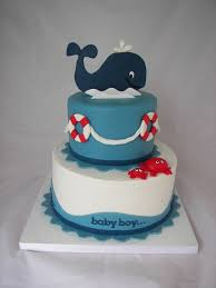 marvellous baby shower cakes nautical theme 75 on diy baby shower