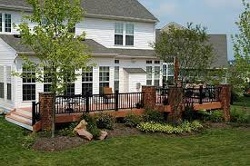 before and after photos of decks landscaping renovations and
