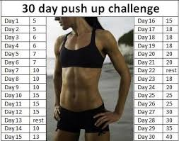 Challenge How To Do It 30 Day Push Up Challenge We How To Do It