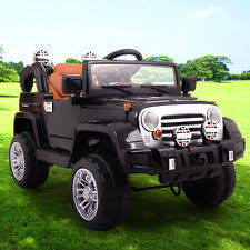 small jeep for kids kids electric car toys hobbies ebay