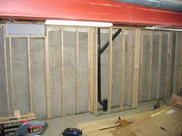 catchy ideas for finishing concrete basement walls with concrete