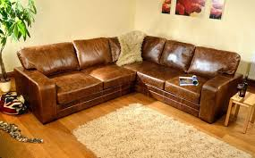 Large Brown Leather Sofa Large Leather Corner Sofas Uk Functionalities Net