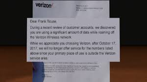 Verizon Wireless Customer Service Representative Salary Verizon Ditches Vassar Family U0027s Phone Service For Excessive Roam