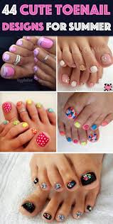 At Home Nail Designs Easy Super How To Design Toenails At Home Easy Pedicure Nail Art Three
