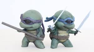 Cowabunga Teenage Mutant Ninja Turtles 3d Printed
