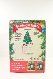 mr goodnight lights mouse candle ornament to turn