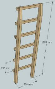 Bunk Bed Ladder One Legged Bunk Bed 9 Steps With Pictures