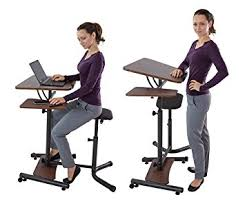 Sit To Stand Desk Teeter Sit Stand Desk Adjustable Height Ergonomic
