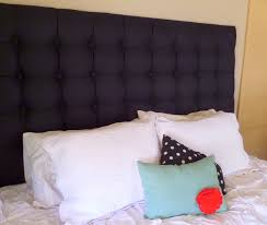 bedroom elegant tufted white headboard which combined with