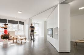 House Walls Movable Walls Transform Giant Studio Into Two Bedroom Pad Curbed