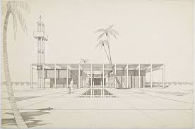 Floor Plan Of A Mosque by Never Built Los Angeles Pierre Koenig Hollywood Mosque 1963