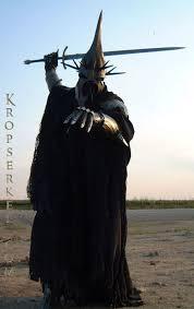 Wraith Halloween Costume Kropserkel Dark Rider Nazgul Witchking Costume Armor