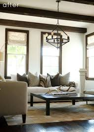 the best neutral paint colours to update dark wood trim dark