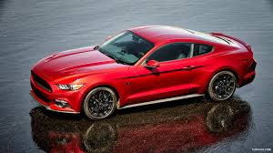 Black Mustang Wallpaper 2016 Ford Mustang Gt Coupe Black Package Side Hd Wallpaper 15