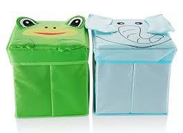 amazon com bright kids toy storage bins x 2 toy storage boxes