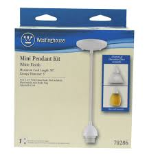 westinghouse lighting 7028600 single light mini pendant kit with
