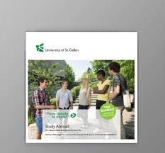 university of st gallen studying brochures