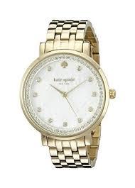 gold tone bracelet watches images Kate spade new york women 39 s 1yru0821 monterey gold jpg