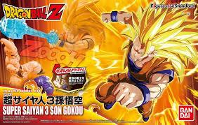 dragon ball figure rise standard super saiyan 3 son goku