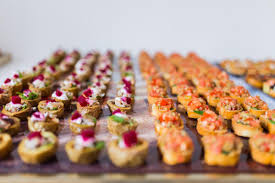 cuisine canapé everything you need to about wedding canapés bijou wedding