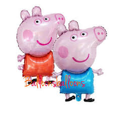 pig balloons 28 peppa george pig balloons large birthday party decorations ebay