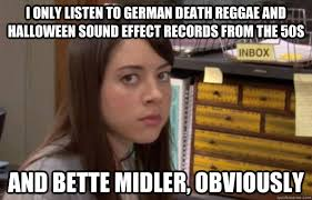 Reggae Meme - i only listen to german death reggae and halloween sound effect