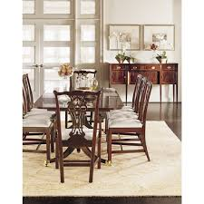 Chippendale Dining Room Chairs by Chair Dining Room Showroom Adriana Hoyos Diningroom Hickory Chair