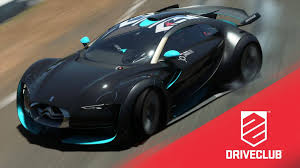 citroen survolt driveclub free june dlc car citroën survolt gameplay youtube